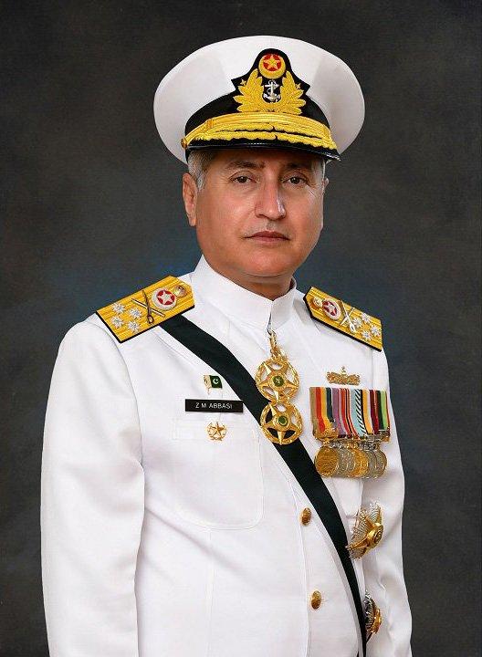 Admiral Zafar Mahmood Abbasi Current Chief of Naval Staff in Pakistan