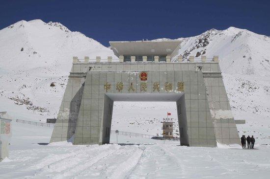 China Pakistan Border Line Name