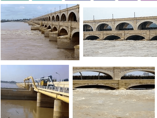 Guddu Barrage Is Built On