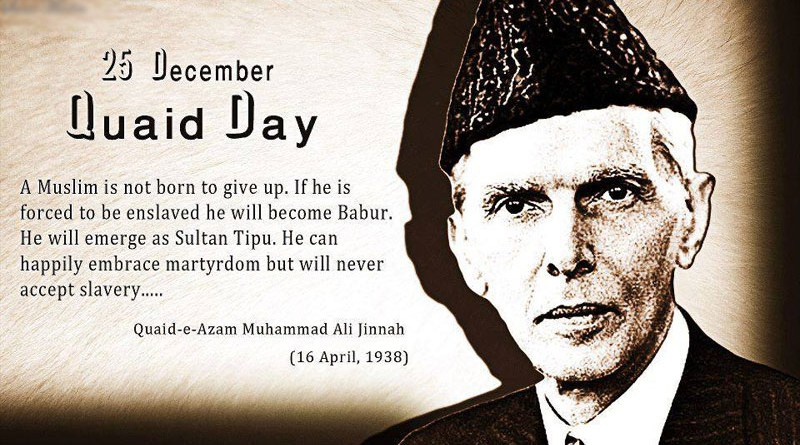 Quaid E Azam Muhammad Ali Jinnah Date Of Birth