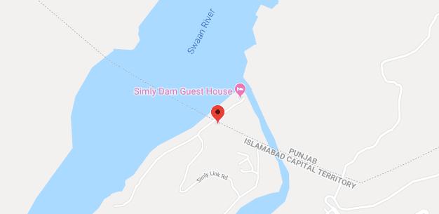 Simly dam Lake Islamabad Location In Pakistan